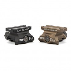 Geissele Aimpoint Micro 1/3 Co-Witness Mount (Black)