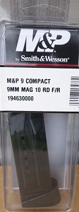 S&W M&P 9mm Compact 10rd Magazine