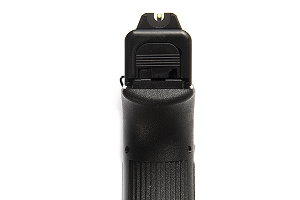 Vickers Elite Battlesight for Glock, Black Serrated