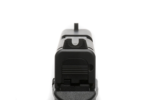 Vickers Elite Battlesight for Glock 42/43, Black Serrated