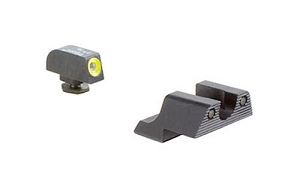 Glock 42 43 HD Night Sights (Yellow)