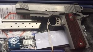 Colt 1911 Govt Rail Gun M45 FDE