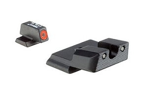 Trijicon HD XR Night Sight Set Orange Front Outline Shield