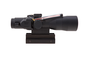 Trijicon 3x30 Compact ACOG® Scope, Dual Illuminated Red Horseshoe/Dot 5.56x45mm/62gr