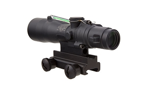 Trijicon 3x30 Compact ACOG® Scope, Dual Illuminated Green Crosshair 300BLK 115/220gr