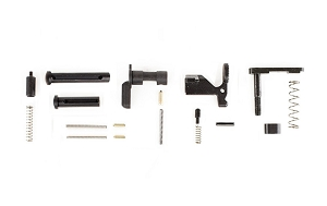 Aero Precision AR15 Lower Parts Kit, Minus FCG/Trigger Guard/Pistol Grip