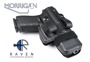 Raven Concealment Morrigan Glock 19 23 XC1 Light Compatible IWB