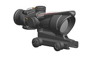 Trijicon ACOG 4x32 BAC (RCO) Horseshoe Dot Reticle USMC A4/M4 W/ Thumbscrew Mount (TA51)
