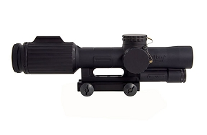 Trijicon VCOG 1-6x24 Riflescope Red Horseshoe Dot / Crosshair  .223 / 77 Grain Ballistic Reticle w/ Thumb Screw Mount