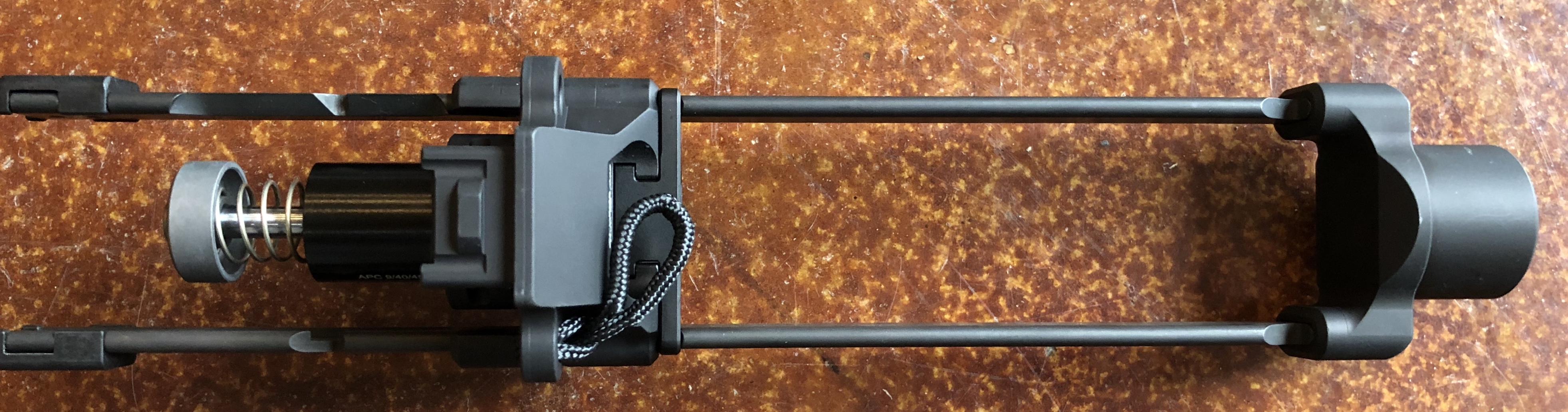 B&T Telescopic Brace for APC9 APC45