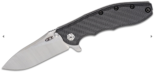 Zero Tolerance 0562CF Hinderer Knife Carbon Fiber (3.5