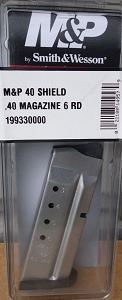 S&W M&P 40 Shield 6rd Magazine