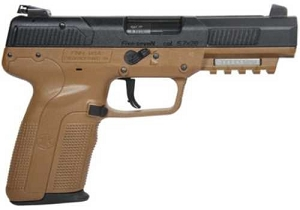 FN Five-seveN Pistol FDE three 20rd Mags