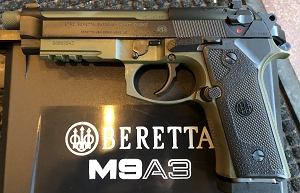 Beretta M9A3 Type G Green Black