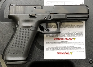 Glock G17M 9MM W/AB AGENT SIGHTS