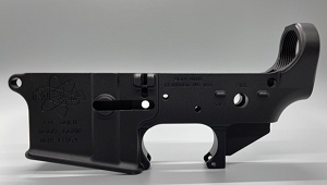 Mega Arms Forged Stripped AR-15 Lower Receiver