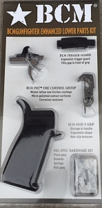BCM AR15 Enhanced Lower Parts Kit (semi) BCM - BLACK