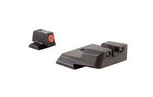 Trijicon HD XR Night Sight Set Orange Front Outline M&P, M&P 2.0 SD9 VE