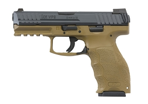 HK VP9  FDE W/3 15rds Mags NS