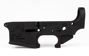 Aero Precision AR15 Stripped Lower Receiver Gen 2 Anodized Black