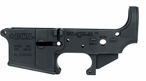 BCM Stripped Lower Receivers--Only at G&R Tactical