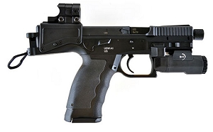 B&T USW A1 Semi-automatic 9mm Pistol with Aimpoint NANO