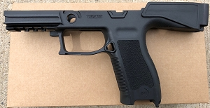 B&T SIG 320 Grip Module W/Stock Black