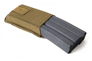 Belt Mounted High Position Ten-Speed M4 Magazine Pouch with Adjustable Belt Loop