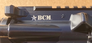 BCM MK2 RECCE-14 BFH ELW MCMR-13 MLOK W/Pinned Surefire Warcomp