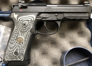 Wilson Combat Beretta 92G Centurion Tactical 9mm W/Action Tune