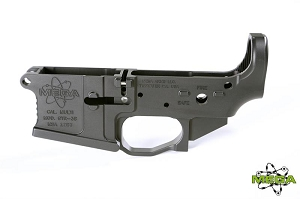 Mega Arms Stripped Billet AR-15 Lower Receiver - GTR-3S