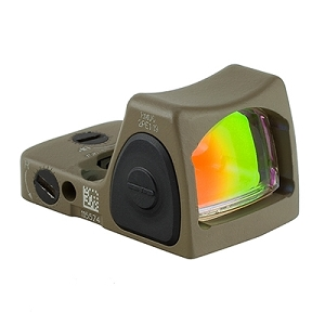 Trijicon RM06 Type 2 RMR Type 2 Adjustable LED Sight FDE 3.25 MOA Red Dot