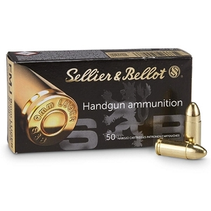 Sellier and Bellot 124gr 9mm 1,000rd Case