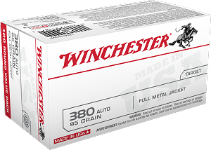 Winchester 95gr 380 Auto 100rd Value Pack