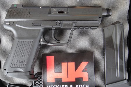 HK HK45C Tactical (DA/SA) W/Factory Night Sights