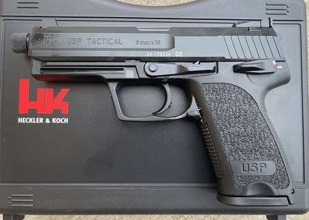 HK USP9 Tactical V1 2 15rd Mags Threaded Barrel