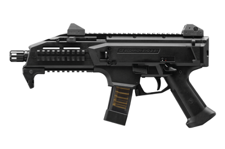 CZ SCORPION EVO 3 S1 pistol 9mm 1/2x28 threads 20rd mag Black