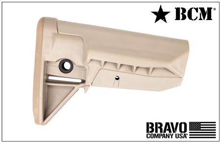 BCM GUNFIGHTER Stock Assembly-Mod 0-SOPMOD-FDE