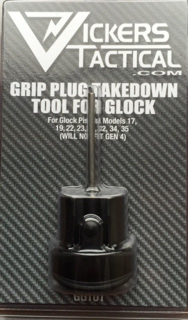 Vickers Tactical Grip Plug/ Takedown Tool for Glock