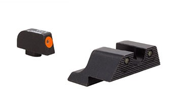 Trijicon HD XR Night Sight Set Orange Front Outline for Glock 42/43