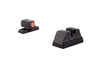 HK USP HD Night Sights Orange