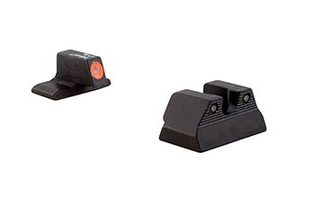 HK P2000 P2000SK HD Night Sights Orange