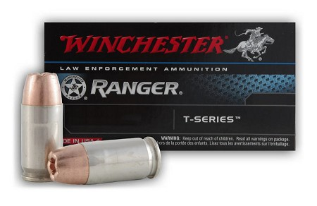 Winchester Ranger T-Series 9mm 147gr Jacketed Hollow Point Ammo - Box of 50