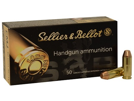Sellier and Bellot 180gr 10mm FMJ 1,000rds