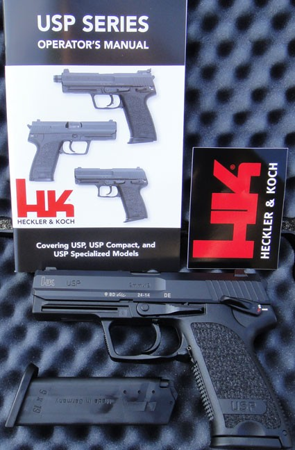 HK USP9 V1 DA/SA W/Safety Decocker