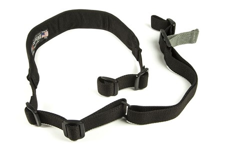 Padded Vickers Combat Applications Sling, Nylon Adjuster and Hardware Black