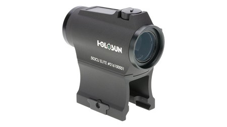 Holosun Elite 2MOA Dot / 65 MOA Circle Micro Green LED Dot Sight