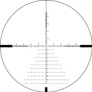 Diamondback Tactical 4-16x44 FFP EBR-2C MRAD Reticle 30mm Tube Tactical Turrets
