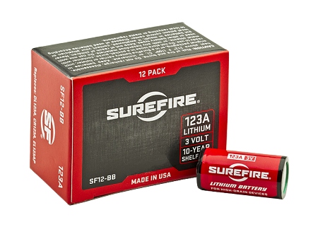 SureFire CR123A Batteries QTY 12
